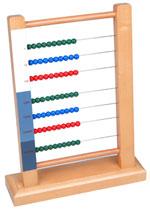 Ábaco del Método Montessori