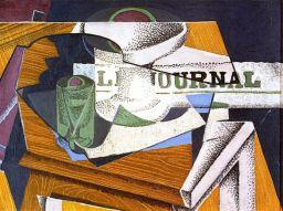 (Juan Gris, Libro y periódico)